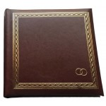 Фотоальбом EVG 15x21x100  Wedding Brown