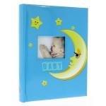 Фотоальбом традиционный Gedeon 29x32/50sheet Moony DBCL50 blue
