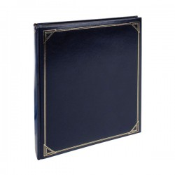 Фотоальбом Henzo 290x335/30sheet  Promo Black - 10.854.07 Blue
