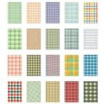 Рамки-наклейки Instax Mini Film Sticker (Fabric Pattern)