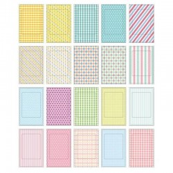 Рамки-наклейки Instax Mini Film Sticker (Pastel Color Pattern)