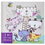 Фотоальбом UFO 10x15x200 C-46200 Cat Family