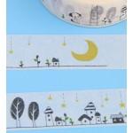 Декоративная лента - самоклейка Виши Лунный город