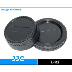 Комплект крышек JJC LR-2 Nikon (Rear Lens & Body)