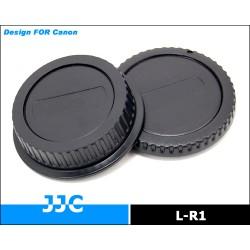 Комплект крышек JJC LR-1 Canon (Rear Lens & Body)