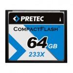 Карта памяти Pretec CompactFlash 64GB 233x Type II