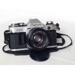 Canon AE-1+FD 50/1.8