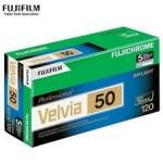 Fujichrome Velvia 50 RVP 120
