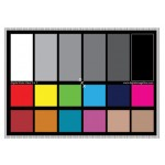 Цветовая мишень DGK Color Tools DKK Color Calibration Chart Set