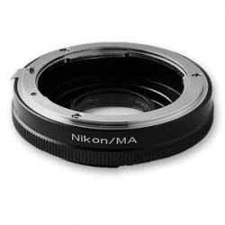 Переходник-адаптер Nikon - Sony Alpha(Minolta AF) с линзой