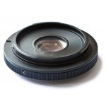 Переходник-адаптер Canon FD-Nikon F (c линзой)