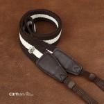 Ремень для фотокамеры Cam-in camera strap (Cam 8069A) Brown&White