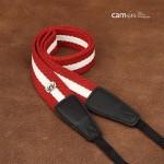Ремень для фотокамеры Cam-in camera strap (Cam 8068A) Red&White