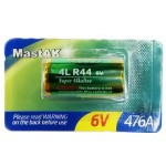 Батарейка MastAK / Winpowa 476A / 4LR44 Super Alkaline (6v) /1шт