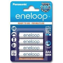 Аккумулятор Panasonic Eneloop AAА 750mAh Ni-MH (4шт)
