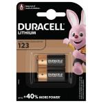 Батарейка Duracell DL 123 / 2 шт.