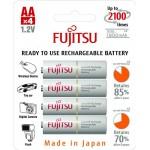 Аккумуляторы Fujitsu AA 1900mAh Ni-MH (4шт)