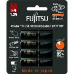Аккумуляторы Fujitsu AA 2500mAh Ni-MH (4шт)