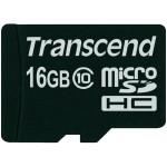 Карта памяти Transcend MicroSDHC 16GB Class10 UHS-I 200x (с SD-адаптером)