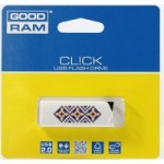 Flash Drive GOODRAM CL!CK 16 GB Ukraine, Black