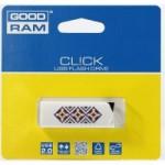 Flash Drive GOODRAM CL!CK 16 GB Ukraine, Black