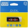Flash Drive GOODRAM CL!CK 8 GB Ukraine, Black