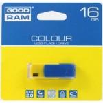 Flash Drive GOODRAM COLOUR 16 GB Ukraine, Blue/Yellow