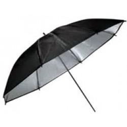 Зонт HYUNDAE PHOTONICS черно/серебристый 105см