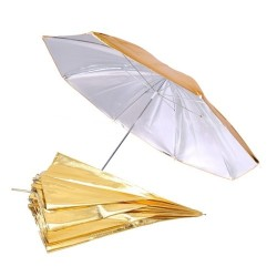 Зонт Falcon URK-32GS Gold/Silver (82 см)