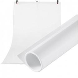 Фон пластиковый (ПВХ) Visico PVC-1020 (100x200 см) - Белый
