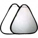 Отражатель треугольный Mircopro Silver/White 80 см