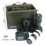Сумка-вкладыш Caden Camera Bag A4