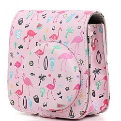 Чехол CAIUL Case for FUJIFILM Instax Mini 8/9 (pink flamingo)